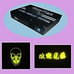 Stage/DJ light-100MW-30W-128 Laser Patterns Green and Red Animation Laser Scanne
