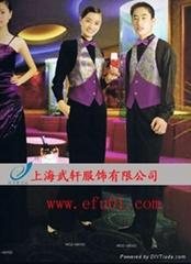 上海武轩服饰订做小妹服
