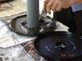 鼓风机的粘滤清器胶水