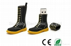 Cool boots usb flash drive Fashion boots