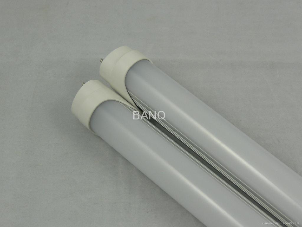 T8灯管/LED288 1.2M铝型材质磨纱罩 1