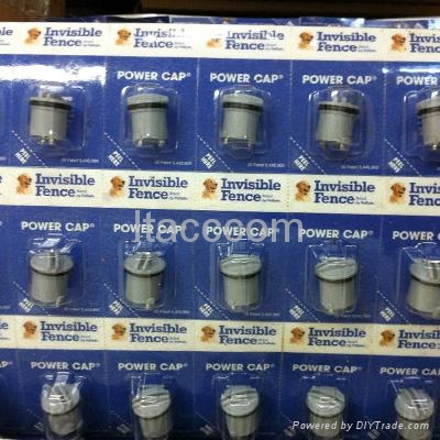 invisible fence power cap dog collar battery new whit packing 1