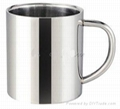 Stainless Steel Coffee Mug  1