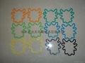 硅膠手環/昆虫造型彩色橡皮觔 3