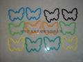 硅膠手環/昆虫造型彩色橡皮觔 5