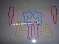 硅膠手環/工具造型彩色橡皮觔
