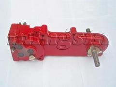 Gearbox assembly of tiller