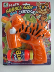 funny tiger bubble gun