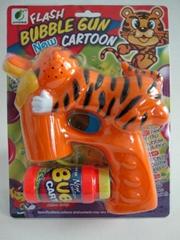 funny tiger bubble gun