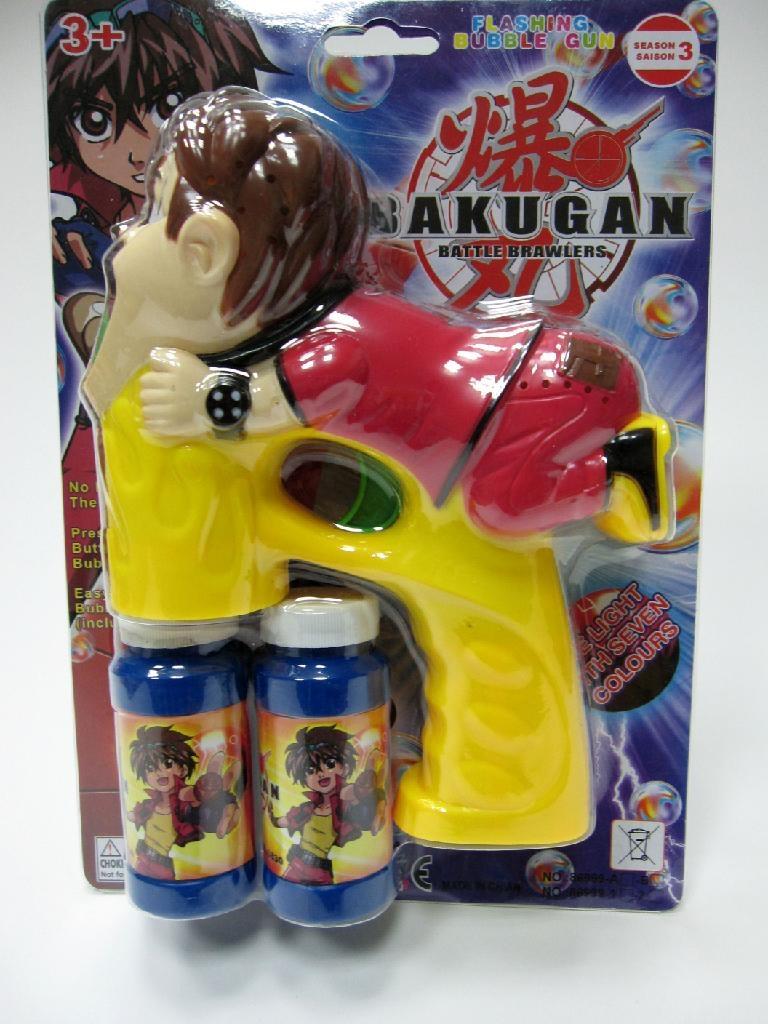 flashing & musical bubble gun 1