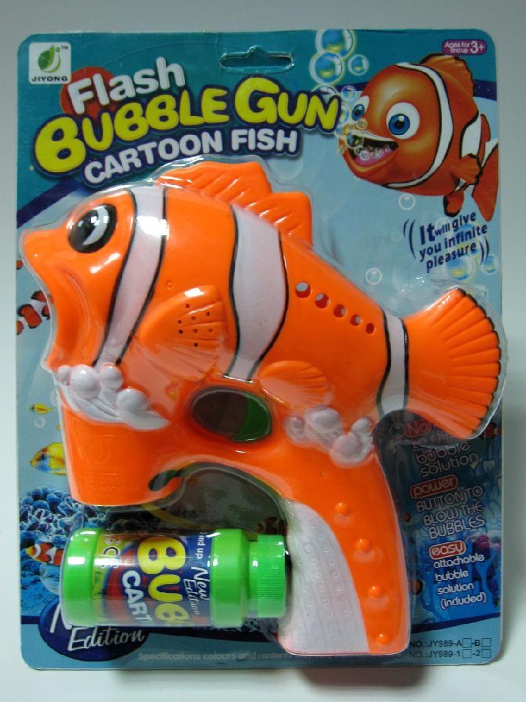 Clown fish bubble gun 989 2 jiyong china manufacturer for Clown fish price
