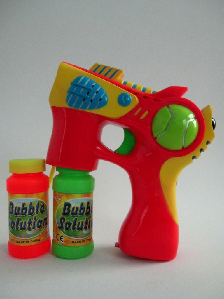 blue light & music bubble gun  2