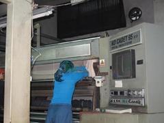 二手意大利KD95及TMT-PF2000罐蒸機second hand decatizing machines