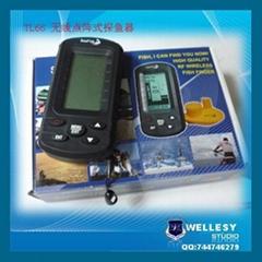 Wireless DOT Martix Sonar Sensor Fish Finder TL66