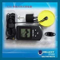 Wire DOT Martix Sonar Sensor Fish Finder TL58