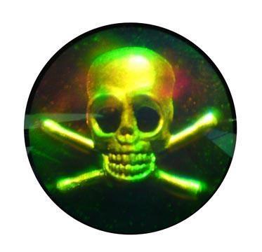激光 全息立體防偽標 3