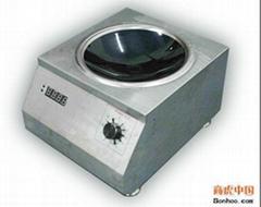 供应美诺克5KW台式电磁炒炉