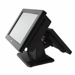 供應雙屏觸摸屏收款機ST150T-DU104N