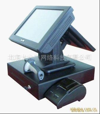 供應15寸雙屏觸摸屏收款一體機 1