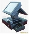 供應15寸雙屏觸摸屏收款一體機