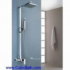 Brass Shower pipe with head showerS