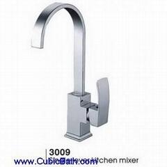 Single Lelver Kitchen Mixer Chrome
