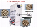 CASHEW NUT COLOR SORTER& CASHEW NUT PROCESSING MACHINE