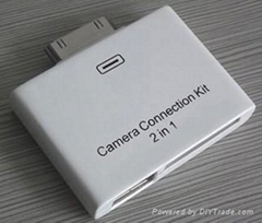 2in 1 camera connection kits for ipad
