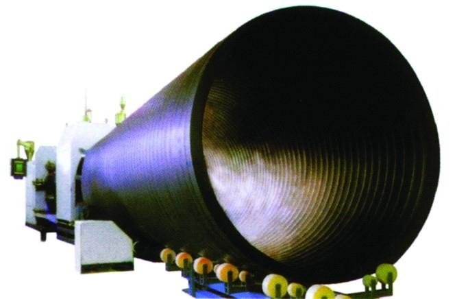 Large diameter hdpe water supply insulation pipe