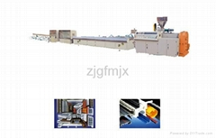 door & window special-shaped material production line