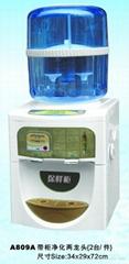 供应温热型净化两龙头饮水机A809A