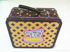 Lunch Tin Box/Handle Box