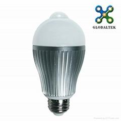 2012 LED球泡人体红外感应 6Wlm