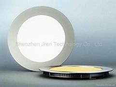 180mm恒流圆形led面板筒灯10W