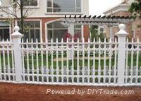 新型雕花圍欄模具