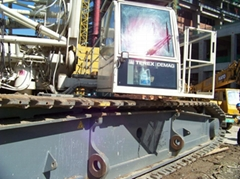 Sell CC2500 used Demag 450ton Crawler Cranes