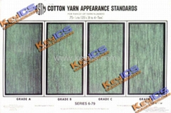 ASTM D2255標準紗外觀評價卡/ASTM Spun Yarn Apperance Standards
