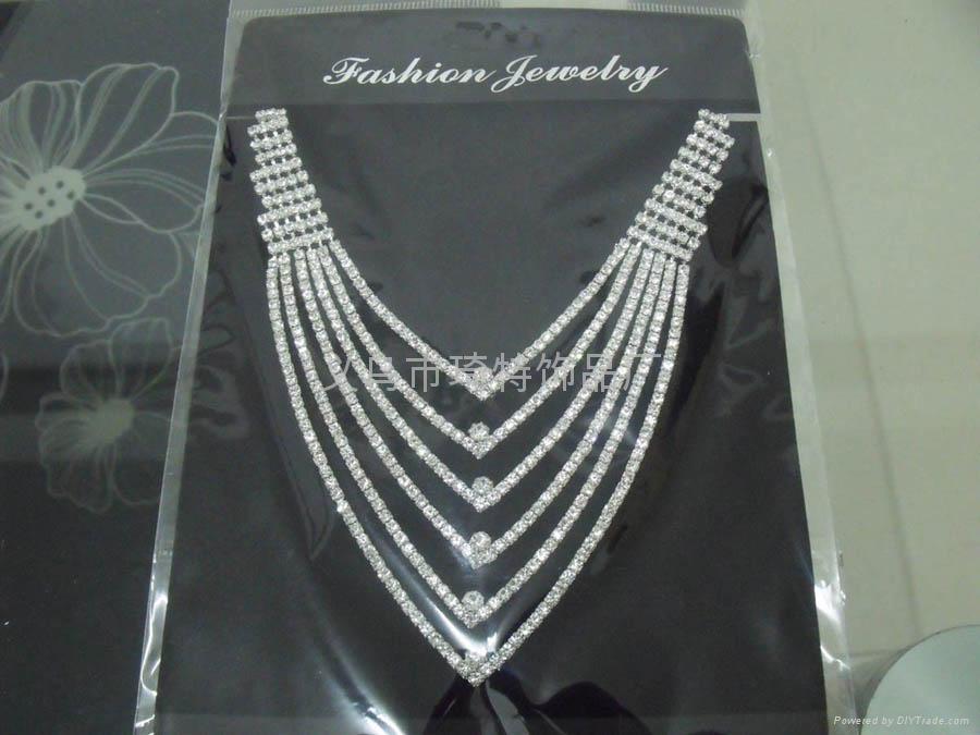 爪鏈項鏈 時尚飾品 新娘套鏈 1