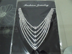 Claw chain chain necklace fashion jewelry bridal sets