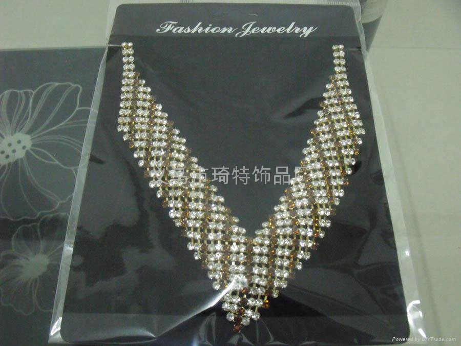 Claw chain chain necklace fashion jewelry bridal sets 2