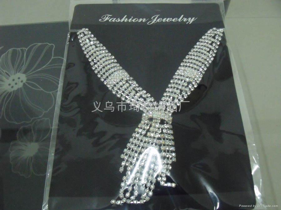 爪鏈項鏈 時尚飾品 新娘套鏈 3