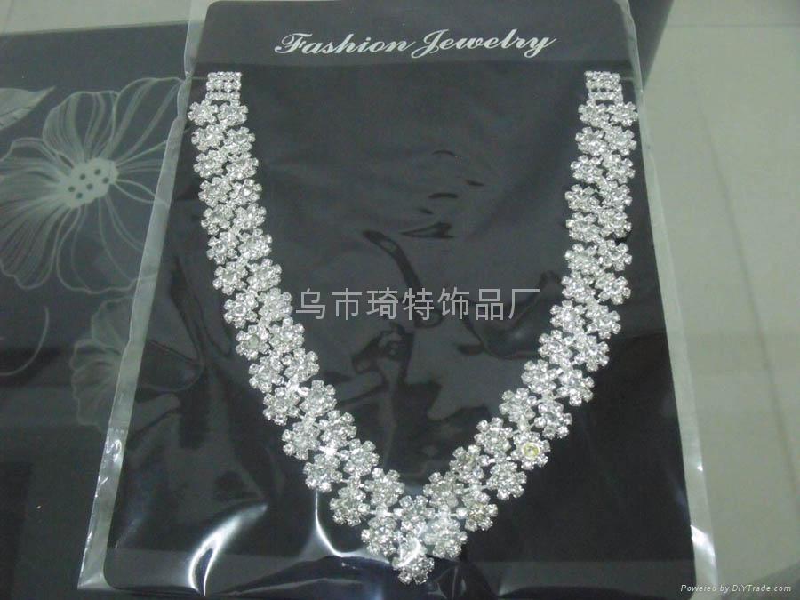 爪鏈項鏈 時尚飾品 新娘套鏈 4