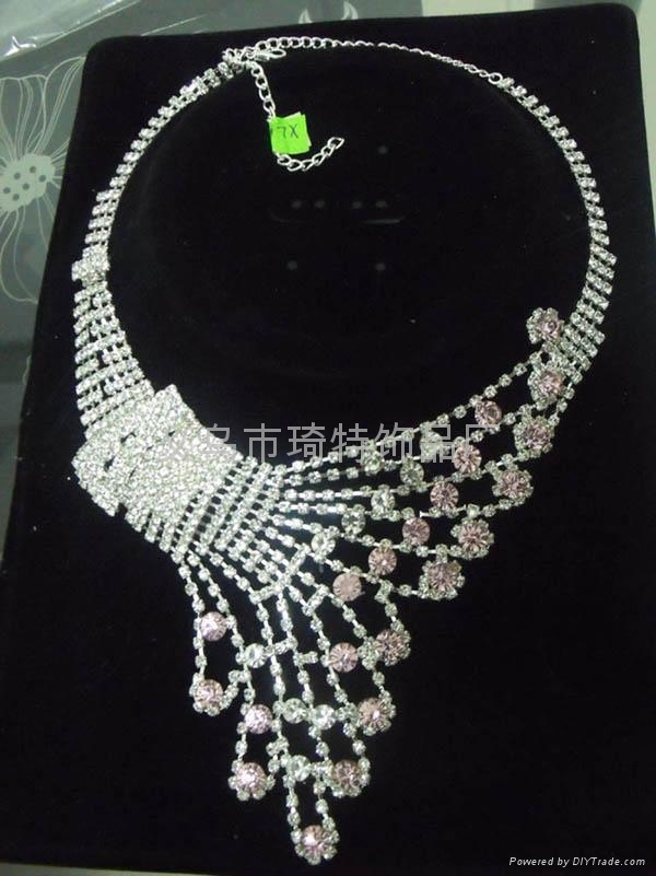 Claw chain chain necklace fashion jewelry bridal sets 5