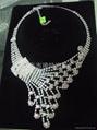 爪鏈項鏈 時尚飾品 新娘套鏈 5