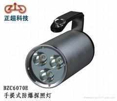 BFC6070E手提式防爆探照燈