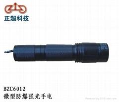供应重庆BZC6012微型防爆强光手电