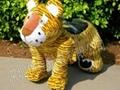 特价大憨熊毛绒小动物电瓶玩具车1350元 2