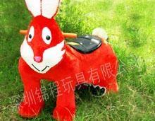 特价大憨熊毛绒小动物电瓶玩具车1350元 3
