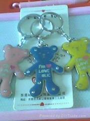 滴胶熊子匙扣
