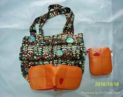 尼龍購物手挽袋